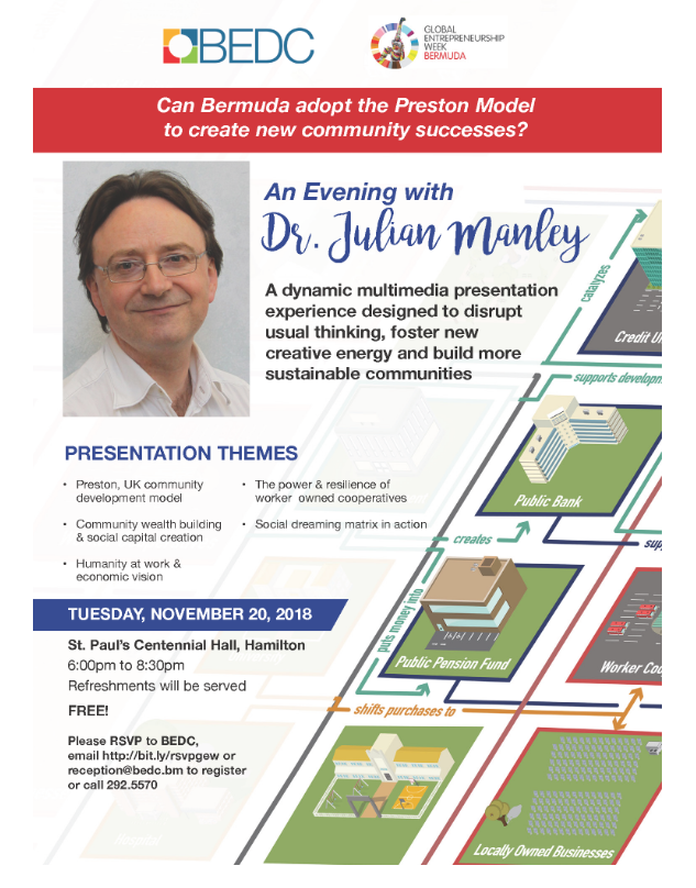 An Evening with Dr. Julian Manley