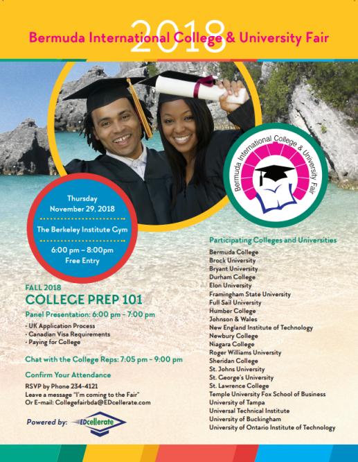 Bermuda International College & University Fair