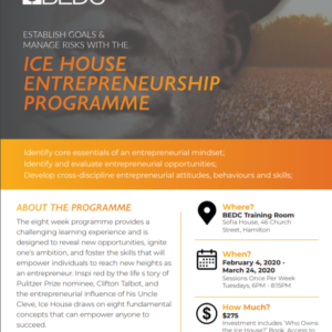 Ice House Entrepreneurship Course