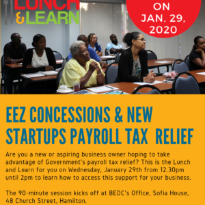 EEZ and New Startup Payroll Tax