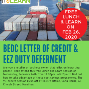 BEDC Letter of Credit and EEZ Duty Deferment