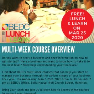 BEDC Multiweek & Courses Overview