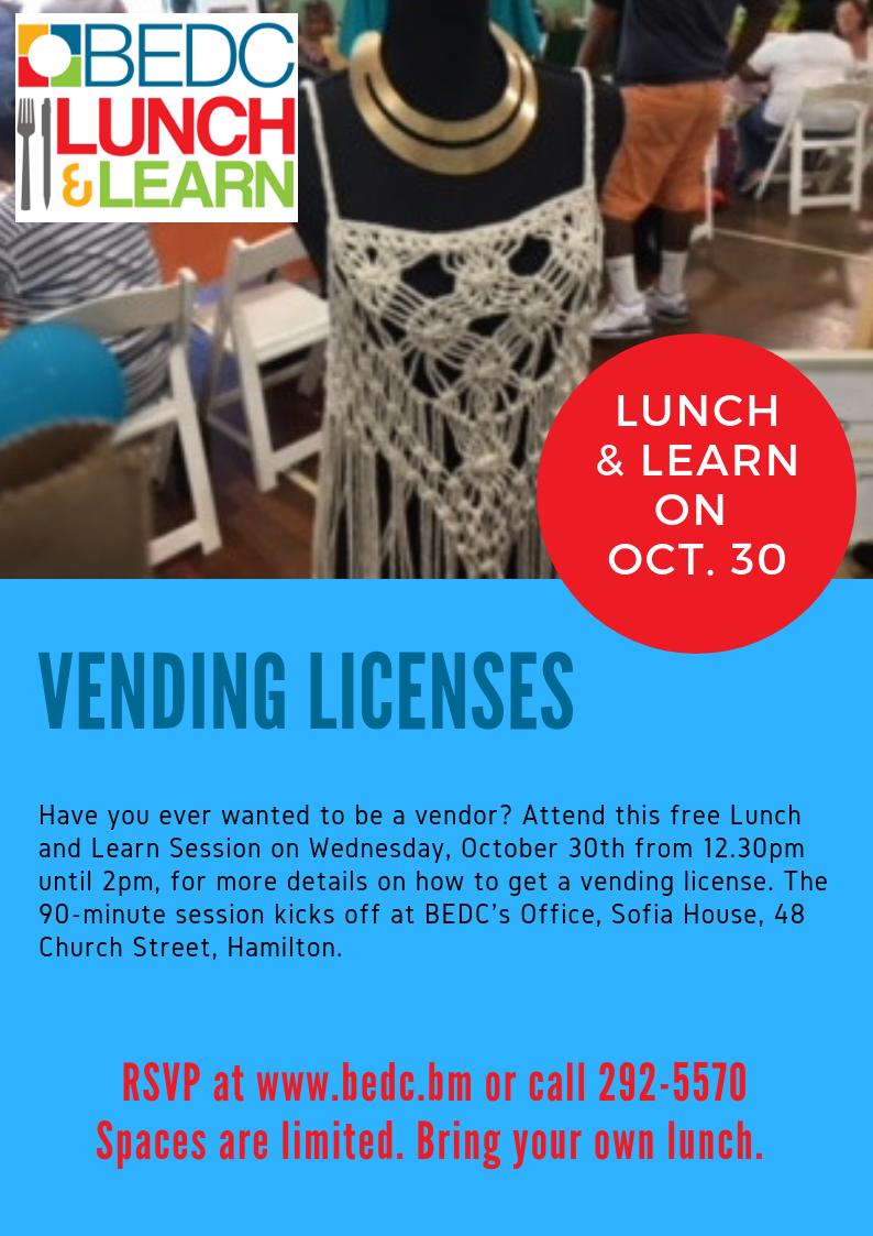 Vending Licenses